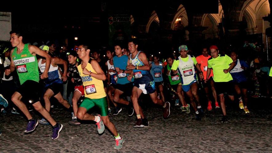 Carrera Neón Nocturna Antigua | Noviembre 2016