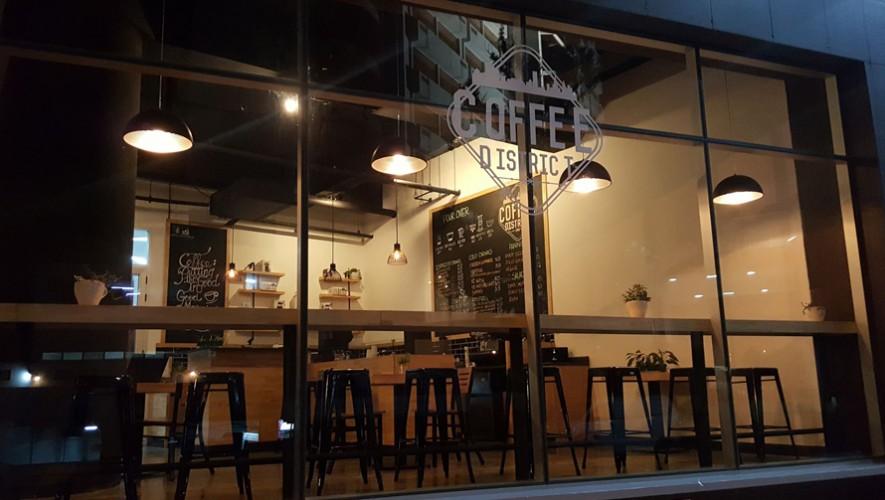 Inauguración Coffe District en zona 13 | Octubre 2016