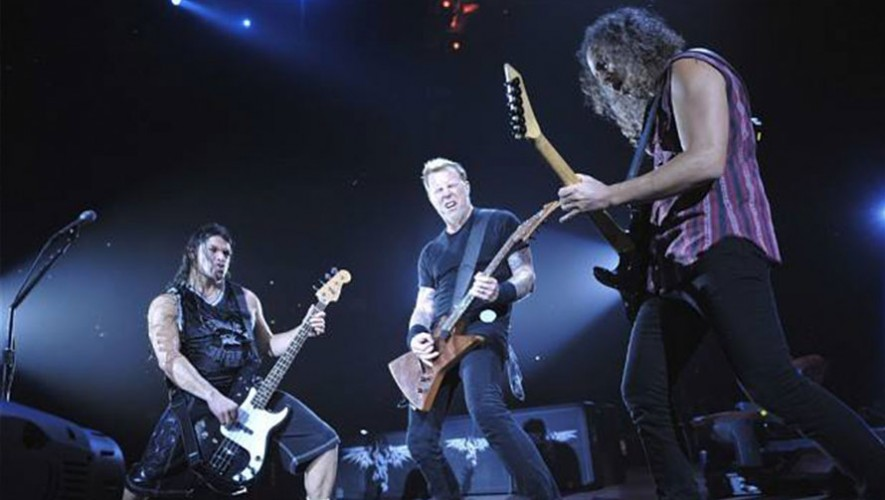 Tu puedes elegir la banda telonera del concierto de Metallica en Guatemala 2016. (Foto: Éxitos Musicales)