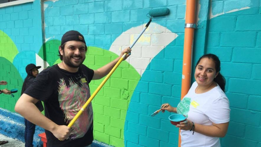 Sé voluntario por un día y ayuda a revivir el parque Justo Rufino Barrios. (Foto: Glasswing Guatemala)