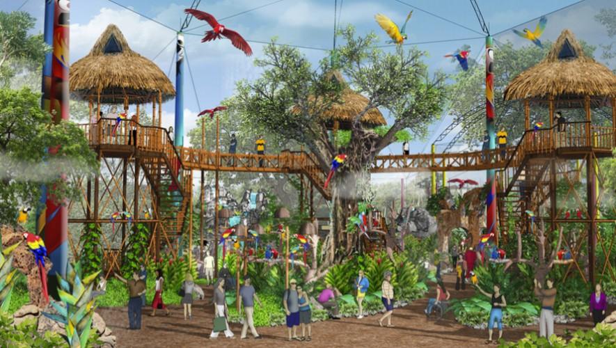 El nuevo parque del Irtra tendrá un aviario con más de 150 aves de diferentes especies. (Foto: Irtra)
