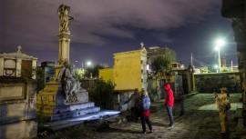 Descubre los secretos en el Cementerio General de Quetzaltenango para el Día de los Muertos 2016. (Foto: José Manuel Busto)