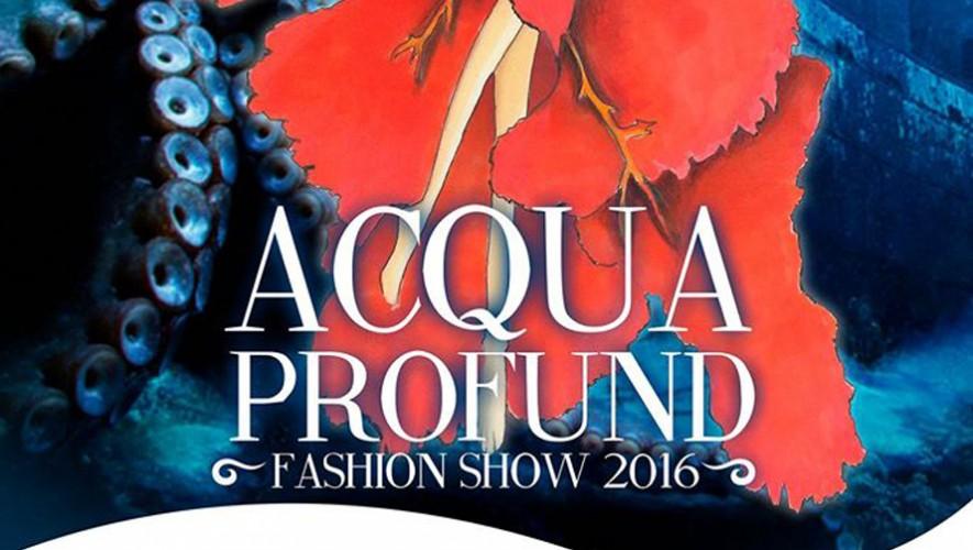 "Desfile de modas ""Acqua Profund"" de estudiantes de Llatzer   Noviembre 2016"