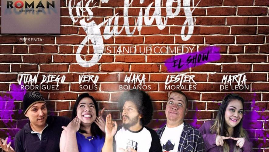 Román presenta un show de Stand Up Comedy con Los Salidos | Octubre 2016