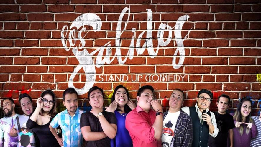 """""""Los Salidos"""" presentan Show de Stand Up Comedy en Román   Octubre 2016"""