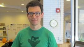 El trabajo de Luis von Ahn fue reconocido por la página de Facebook de Duolingo. (Foto: Latinos USA)