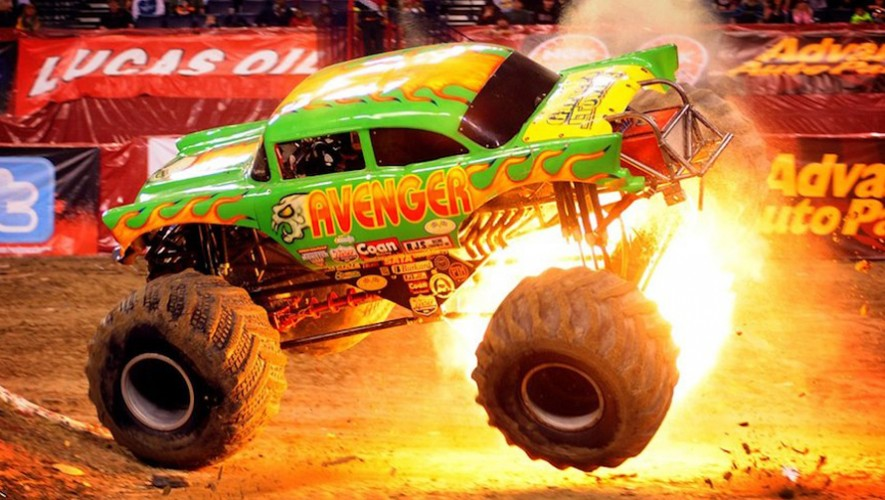 Monster Trucks Destruction Tour en Campo Marte | Noviembre 2016