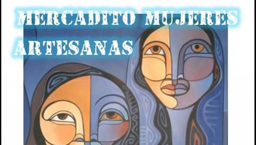 Mercado de productos fabricados por mujeres artesanas en Pasaje Tatuana | Octubre 2016
