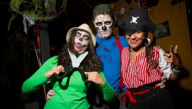 Celebra Halloween en cualquiera de estas increíbles fiestas en Guatemala. (Foto: Nelo Mijangos)