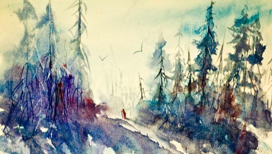 Curso de vacaciones para aprender a pintar con acuarela en Sushan Estudio | Octubre 2016