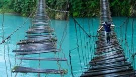 Impresionante fotografía de Río Azul en Huehuetenango. (Foto: Guatemala es Impresionante/ Victor Gutierréz)