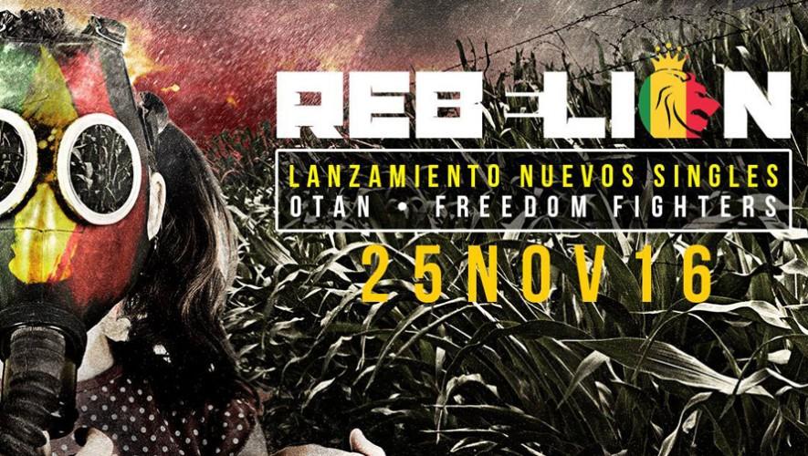 Fiesta de lanzamiento nuevos singles de RebeLion en La Bodega   Octubre 2016