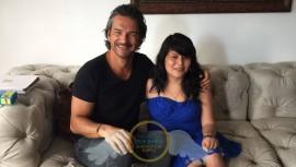 El cantante guatemalteco cumplió el sueño de Ileana Juárez. (Foto: Fundación Erick Quiroa, Alas por un sueño):