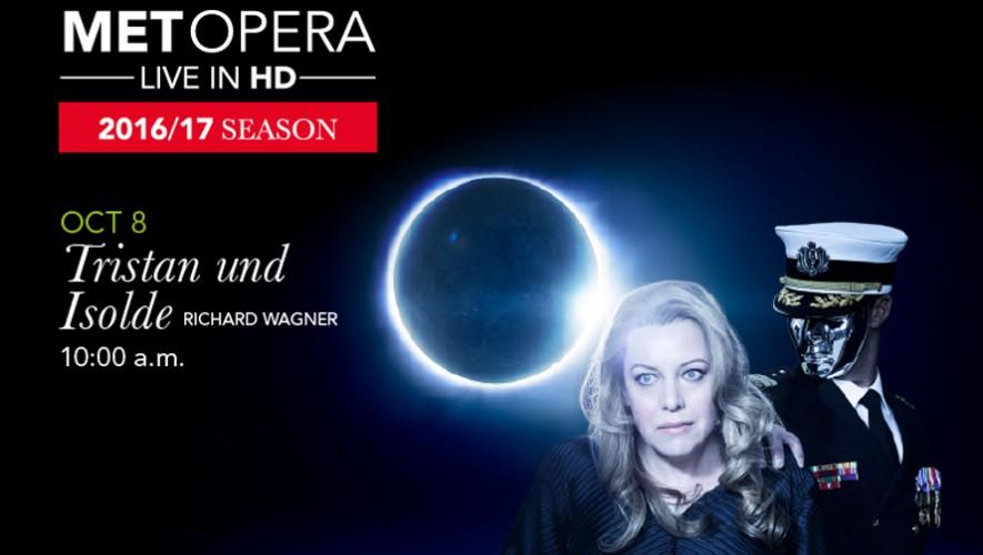 """""""Tristan und Isolde"""" Ópera transmitida en vivo en Teatro Dick Smith   Octubre 2016"""