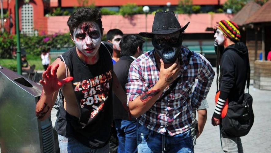 No te pierdas la quinta edición de la Zombie Walk en Guatemala. (Foto: Zombie Walk)
