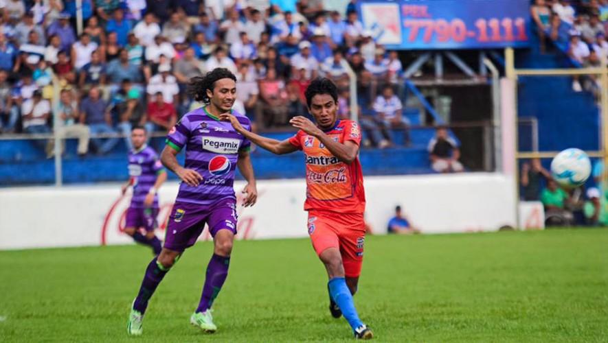 Partido de Suchitepéquez vs Antigua, por el Torneo Apertura | Octubre 2016