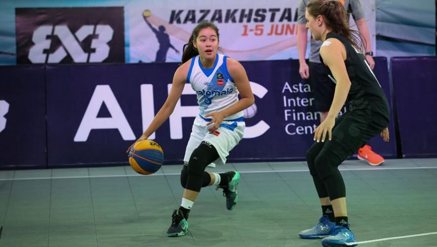 Guaetmala cuenta con dos plazas para las Olimpiadas Juveniles que se realizarán en el 2018 en Argentina. (Foto: FIBA 3x3)