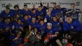 Los Bulldogs se coronaron tricampeones del Fútbol Americano en Guatemala. (Foto: Dean Perez)