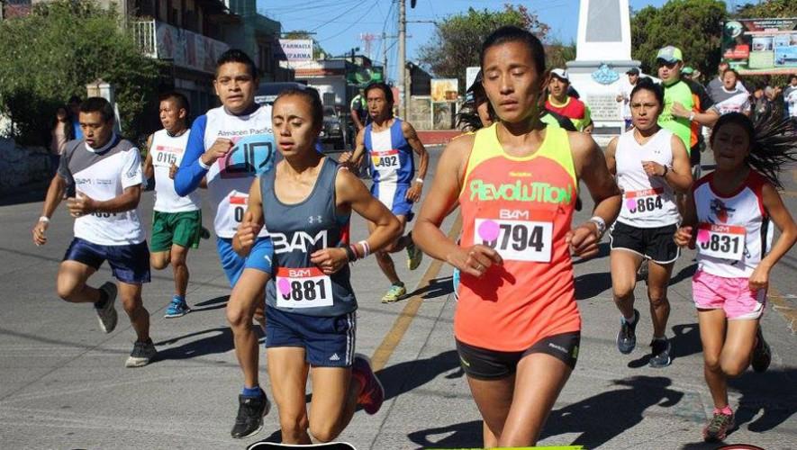 Carrera 10K por la Juventud MFCJ en Quetzaltenango   Octubre 2016
