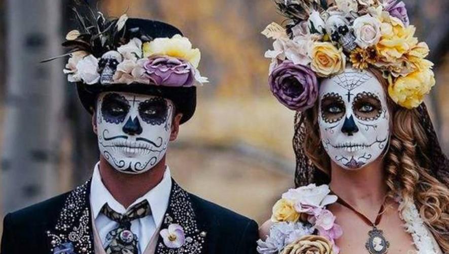 Fiesta de Halloween de Catrines y Catrinas en La Chula | Octubre 2016