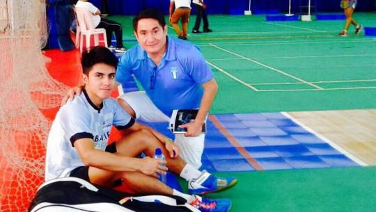 Martínez se coronó como el mejor badmintonista juvenil en República Dominicana. (Foto: Deportes Engasados)