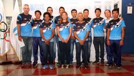 La delegación guatemalteca de ciclismo ya se encuentra listo para buscar medallas en Aguascalientes, México. (Foto: COG)