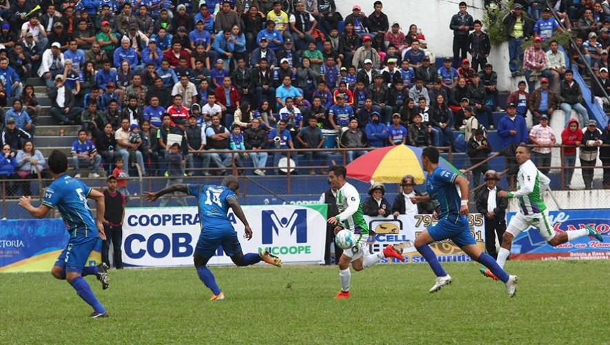 Partido de Antigua vs Cobán, por el Torneo Apertura   Octubre 2016