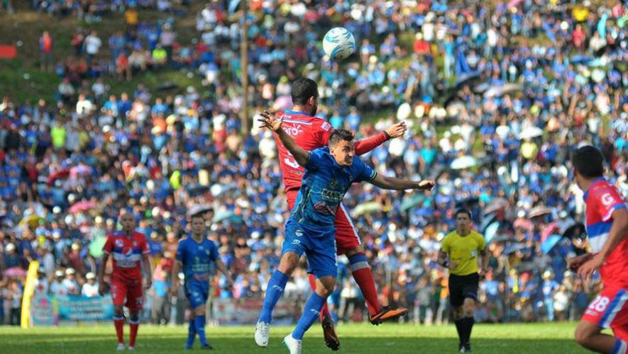 Partido de Cobán vs Suchitepéquez, por el Torneo Apertura   Octubre 2016