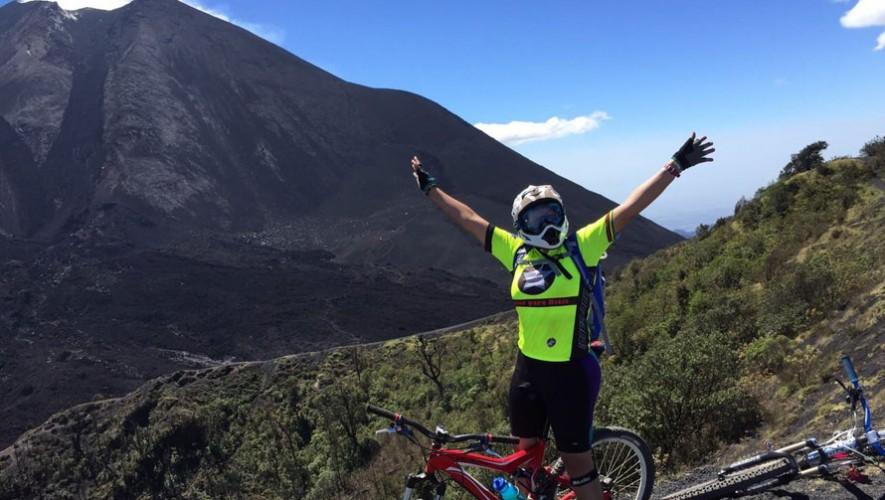 Segundo Colazo de MTB en el Volcán de Pacaya | Octubre 2016