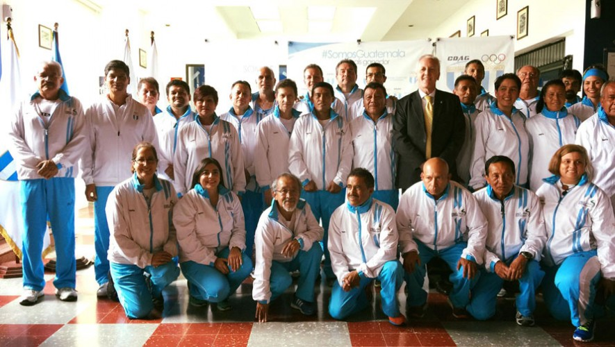 La delegación fue juramentada este lunes en las instalaciones del COG. (Foto: Carlos Heidi Fernández)