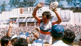 Edín Roberto Nova, uno de los grandes ganadores de la Vuelta Ciclística a Guatemala