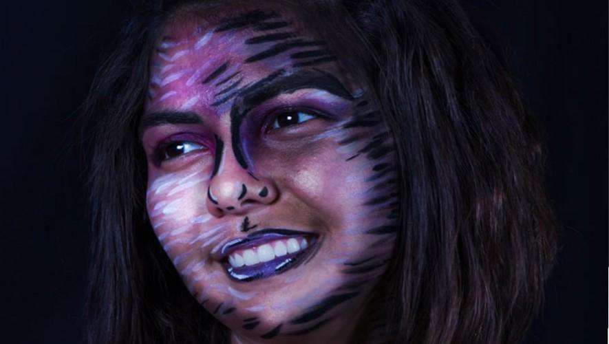 Eerie makeup Gt