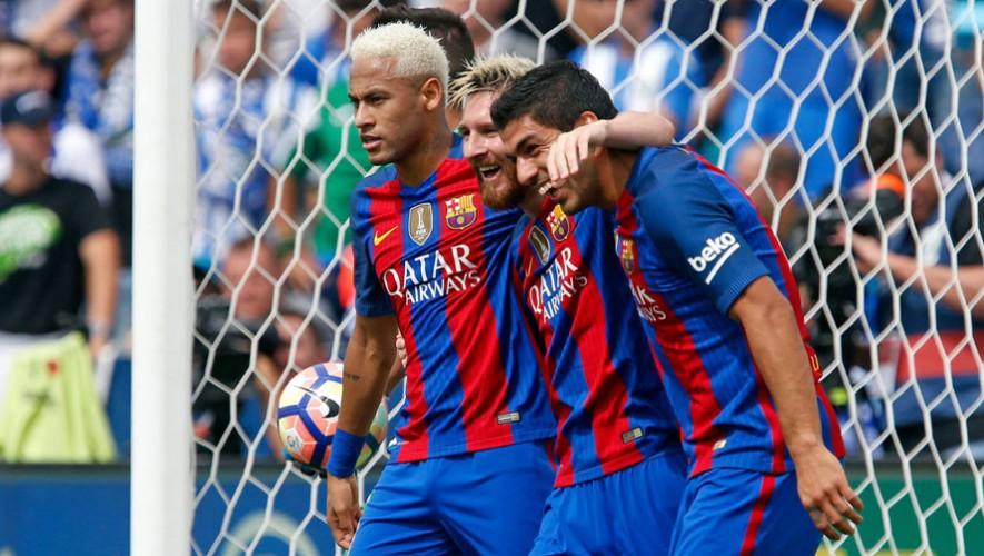 El Barcelona abrirá sus puertas aquí en Guatemala con su escuela para formar futbolistas jóvenes. (Foto: FC Barcelona)