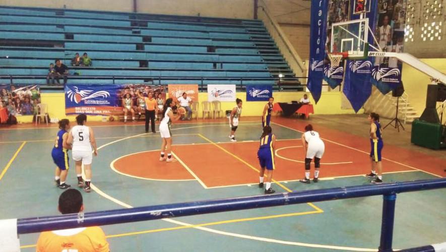 Las categorías U-12 y U-18 fueron las primeras en disputarse en la Liga Nacional de Baloncesto. (Foto: FNBG)