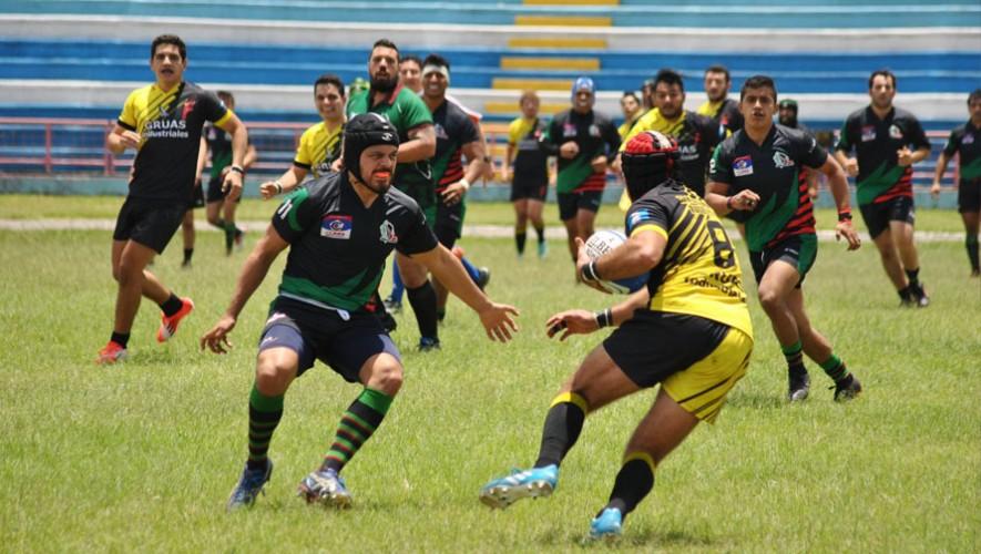 Partido de Quetzales vs San Josemaria, final de Liga Nacional de Rugby XV   Octubre 2016