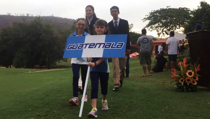 Valeria y Ricardo son los máximo representantes de Guatemala en dicho torneo. (Foto: Asogolf Guatemala)