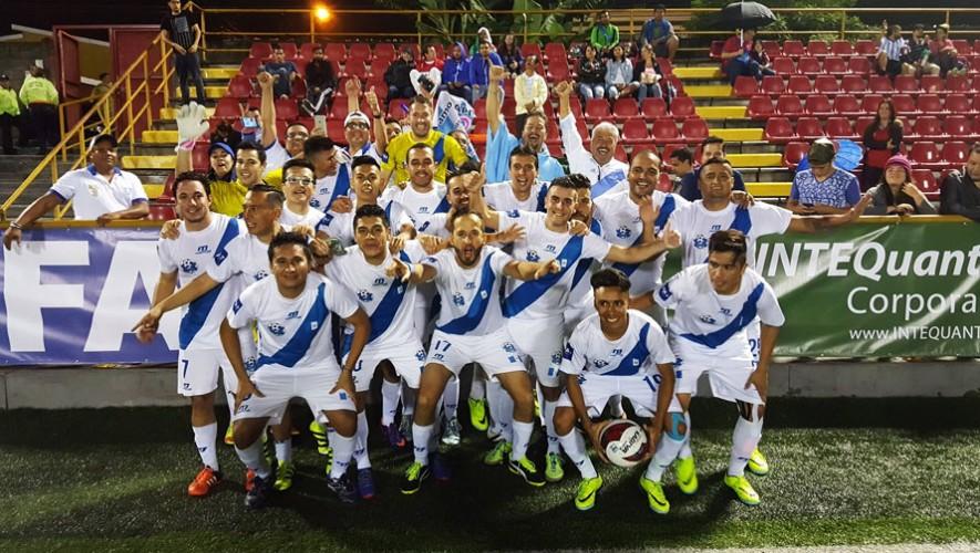 Guatemala debutó con victoria en el torneo organizado por la IFA7. (Foto: Super League 7 Guatemala)