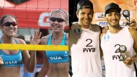 Los cuatro atletas guatemaltecos viajarán la otra semana a Santa Lucia. (Foto: AFECAVOL/COG)