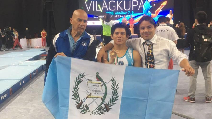 Vega se subió por segunda vez consecutiva al podio, tras ganar bronce en la prueba ed salto. (Foto: COG)