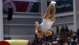Vega logró colgarse dos medallas mundiales durante la Copa realizada en Hungría.  (Foto: COG)