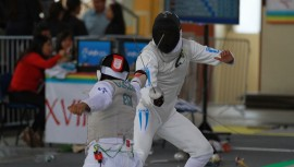 José logró la mejor posición de la delegación de Guatemala que compitió en Cancún, México. (Foto: COG)