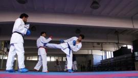 5 karatecas guatemaltecos serán los encargados de buscar ganar una medalla para el país. (Foto: COG)