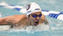 Luis inició la temporada 2016 de natación con tres primeros lugares. (Foto: Jeff Shearer)