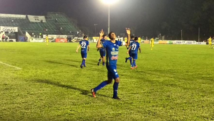 Partido de Marquense vs Cobán, por el Torneo Apertura | Octubre 2016