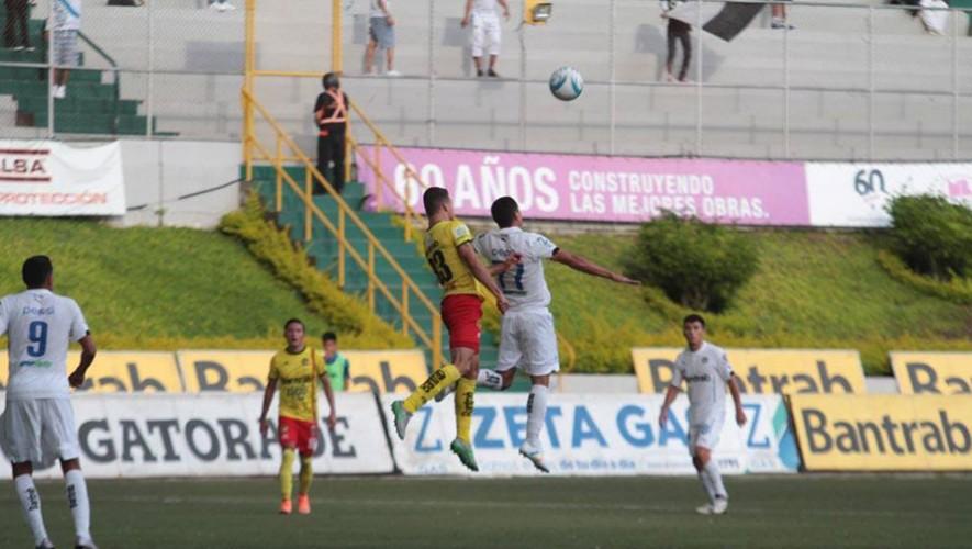 Partido de Marquense vs Comunicaciones, por el Torneo Apertura   Octubre 2016