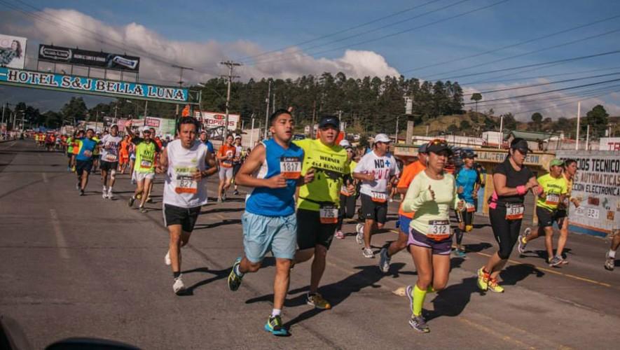 Media Maratón Xela 21k   Noviembre 2016
