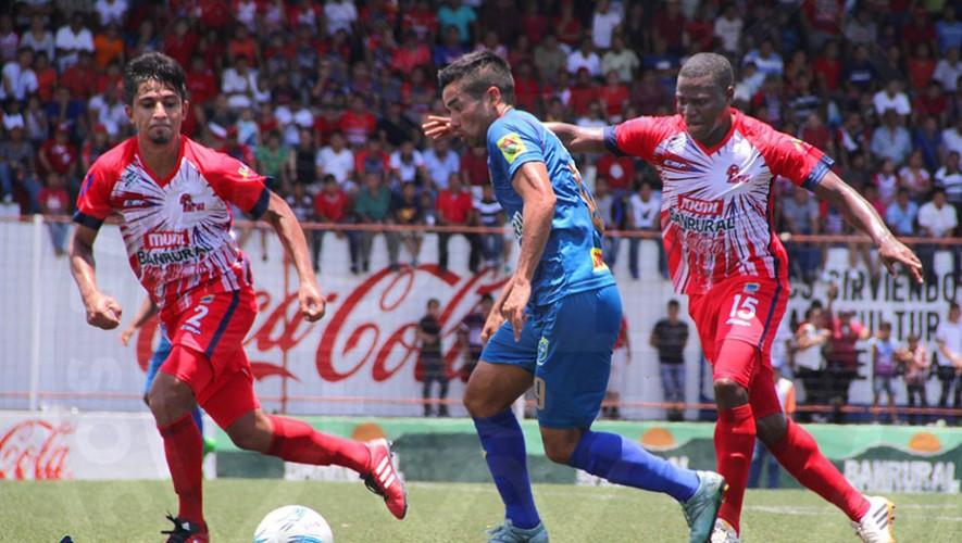 Partido de Municipal vs Malacateco, por el Torneo Apertura   Octubre 2016