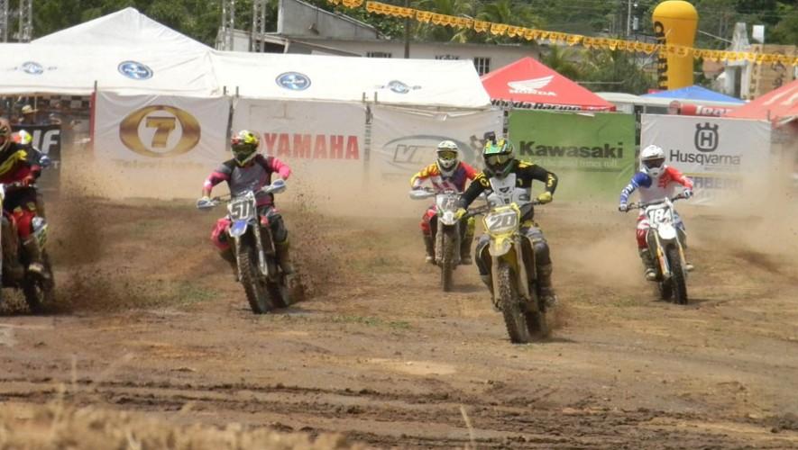 Esteban Castillo fue el ganador de las máximas categorías del motocross. (Foto: FNMG)