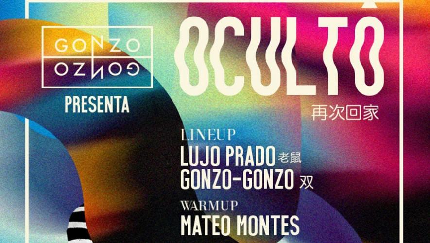 Fiesta Oculto de Gonzo-Gonzo en Casa Llerandi | Octubre 2016
