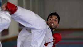 La delegación guatemalteca estuvo conformada por 5 atletas, quienes compitieron en combates de las diferentes categorías disputadas. (Foto: COG)